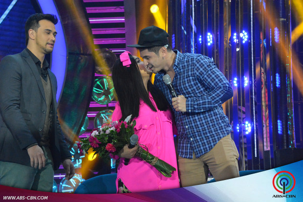PHOTOS: Ahron Villena makes surprise visit to Kakai Bautista