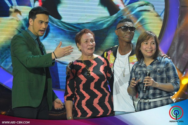 PHOTOS: Kean Cipriano gets a surprise visit from his family