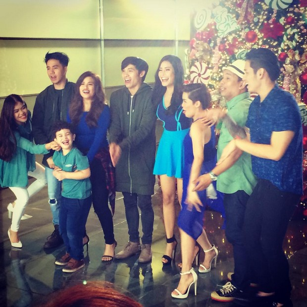BEHIND-THE-SCENES: Team YFSF's shoot for ABS-CBN Christmas Station ID