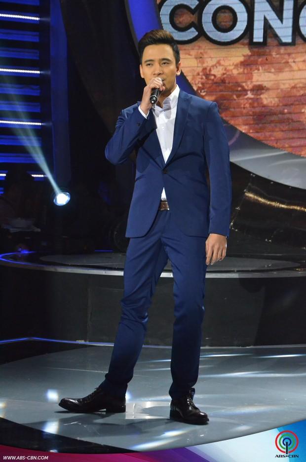 PHOTOS: Sam Concepcion as 'Prince Of Pop' Erik Santos