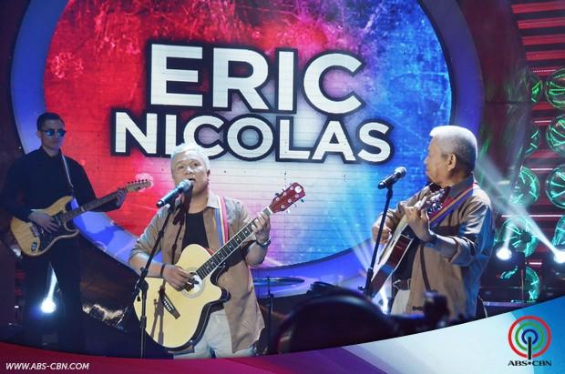 PHOTOS: Eric Nicolas impersonates Heber Bartolome