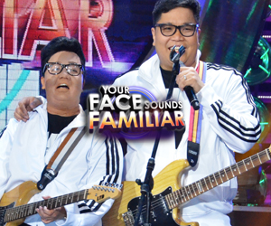 PHOTOS: Jugs Jugueta performs with his impersonator Kakai Bautista