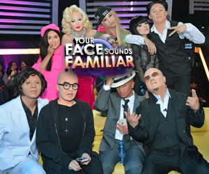 "Denise impersonates Lea, Kean copies Dolphy in ""Your Face"" this weekend"