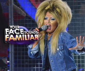 KZ Tandingan as Tina Turner -