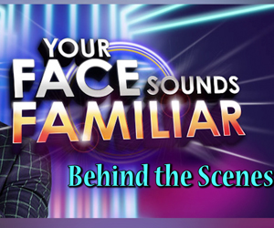 Behind the Scenes:Your Face Sounds Familiar Grand Showdown Backstage Access Thumbnail