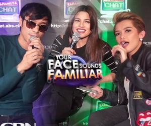 Maligayang Pasko mula sa Your Face Sounds Familiar Family Thumbnail